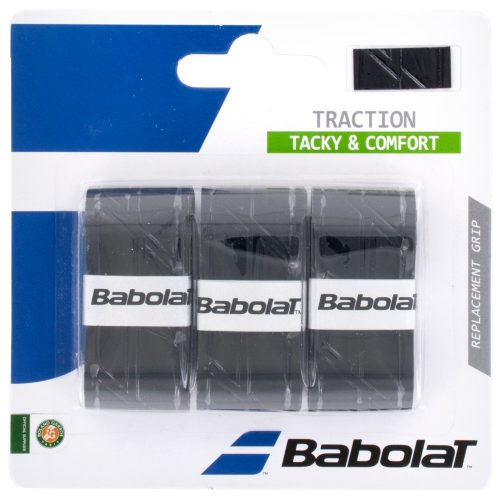 Babolat Traction Overgrip 3 Pack: Babolat Tennis Overgrips