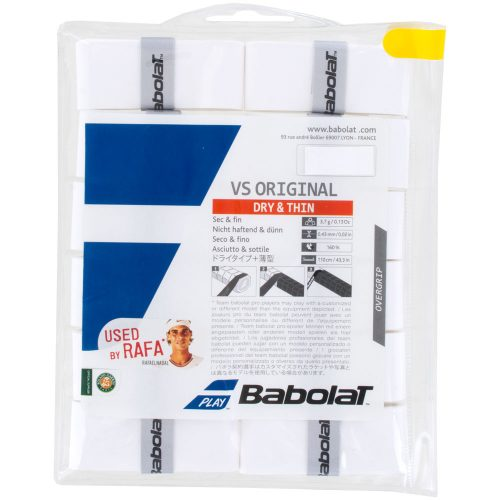 Babolat VS Original Overgrip 12 Pack: Babolat Tennis Overgrips