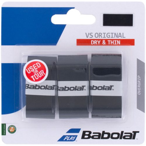Babolat VS Original Overgrip 3 Pack: Babolat Tennis Overgrips