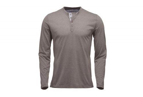 Black Diamond Long Sleeve Attitude Henley - Men's - slate, small
