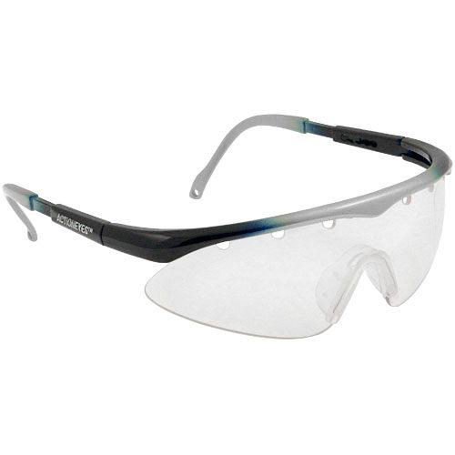 Black Knight Action Eyes Turbo Eyeguards Silver/Blue: Black Knight Eyeguards