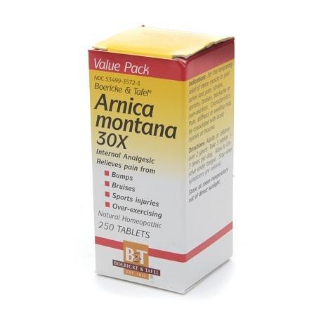 Boericke & Tafel Arnica montana 30X, Tablets - 250 ea