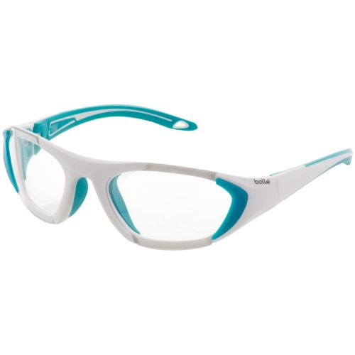 Bolle Field Eyeguards White/Mint: Bolle Eyeguards