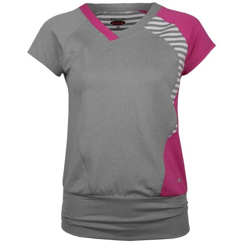 Bolle In The Pink Cap Sleeve 8749: Bolle Women's Tennis Apparel