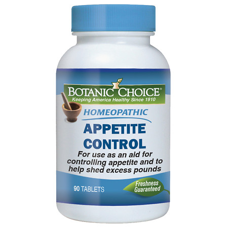 Botanic Choice Homeopathic Appetite Control Formula, Tablets - 90 ea