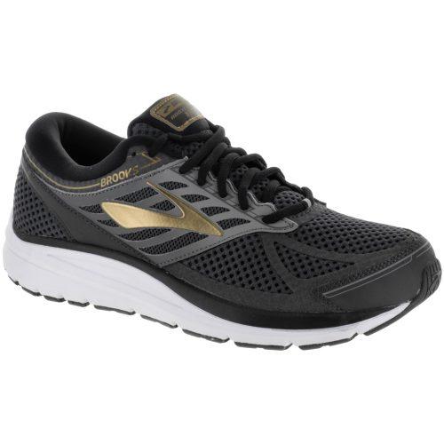 Brooks Addiction 13: Brooks Men's Running Shoes Black/Ebony/Metallic Gold