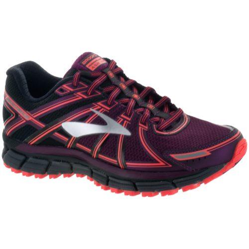 Brooks Adrenaline ASR 14: Brooks Women's Running Shoes Black/Ebony/Pickled Beet