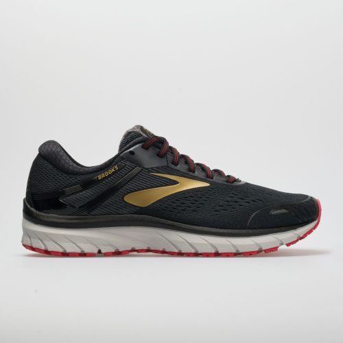 Brooks Adrenaline GTS 18: Brooks Men's Running Shoes Black/Gold/Red