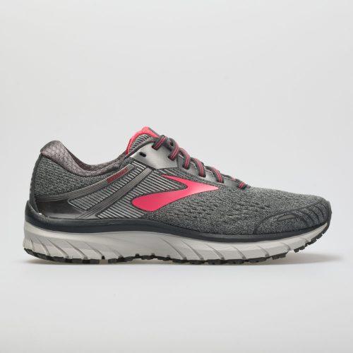 Brooks Adrenaline GTS 18: Brooks Women's Running Shoes Ebony/Silver/Pink