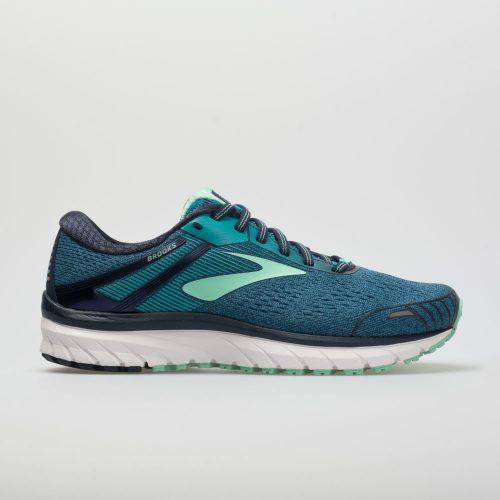 Brooks Adrenaline GTS 18: Brooks Women's Running Shoes Navy/Teal/Mint