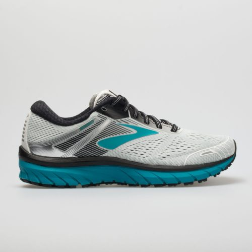 Brooks Adrenaline GTS 18: Brooks Women's Running Shoes White/Black/Teal