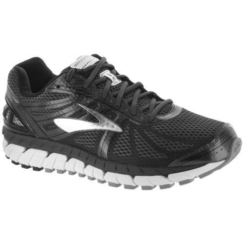 Brooks Beast 16: Brooks Men's Running Shoes Anthracite/Black/Silver