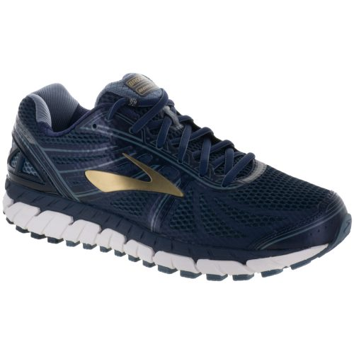Brooks Beast 16: Brooks Men's Running Shoes Peacoat Navy/China Blue/Gold