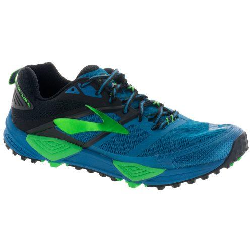 Brooks Cascadia 12: Brooks Men's Running Shoes Black/Turkish Tile/Andean Toucan