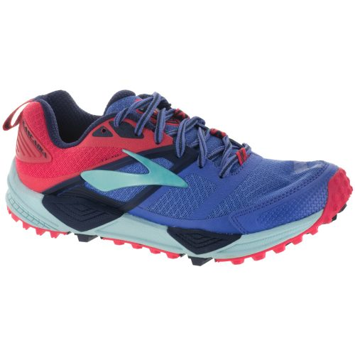 Brooks Cascadia 12: Brooks Women's Running Shoes Baja Blue/Paradise Pink/Clearwater