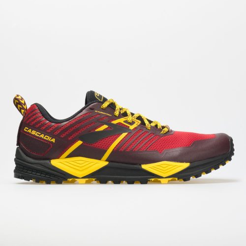 Brooks Cascadia 13: Brooks Men's Running Shoes Red/Yellow/Black