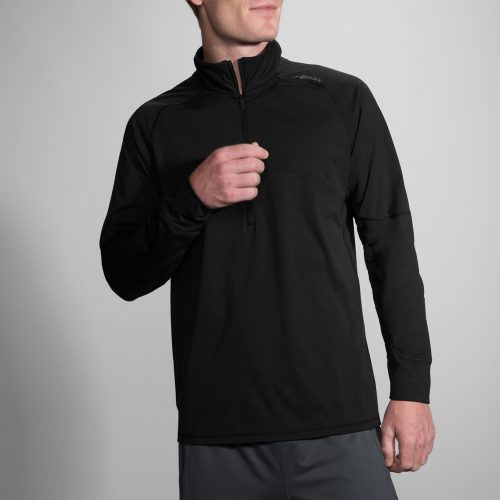 Brooks Drift 1/2 Zip: Brooks Men's Running Apparel