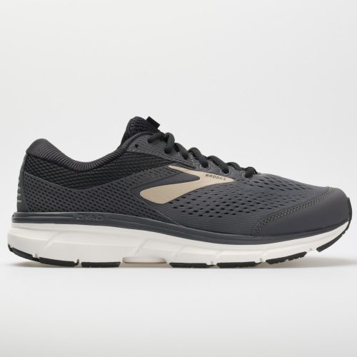 Brooks Dyad 10: Brooks Men's Running Shoes Grey/Black/Tan