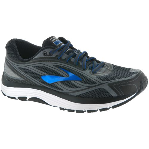 Brooks Dyad 9: Brooks Men's Running Shoes Ashphalt/Electric Brooks Blue/Black