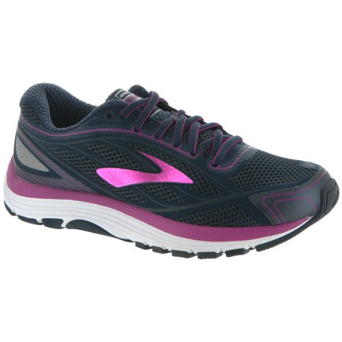 Brooks Dyad 9: Brooks Women's Running Shoes 's Ombre Blue/Festival Fuchsia/Mood Indigo