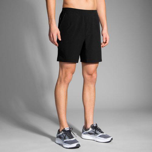 "Brooks Fremont 7"" Linerless Shorts: Brooks Men's Running Apparel"
