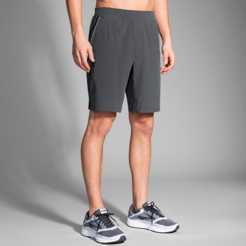 "Brooks Fremont 9"" Linerless Shorts: Brooks Men's Running Apparel"