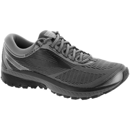 Brooks Ghost 10: Brooks Men's Running Shoes Primer Gray/Metallic Charcoal/Ebony