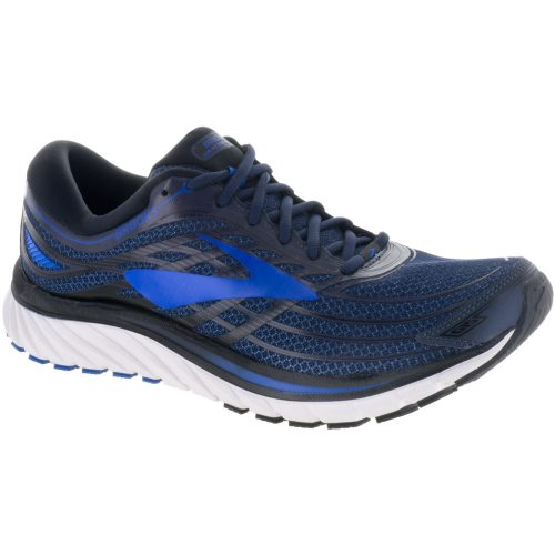 Brooks Glycerin 15: Brooks Men's Running Shoes Peacoat Navy/Eletrick Brooks Blue/Black