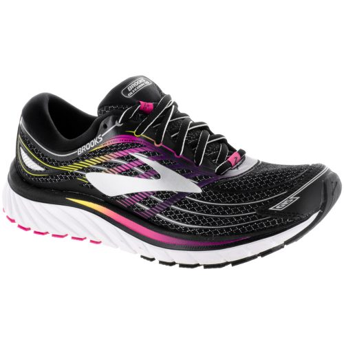 Brooks Glycerin 15: Brooks Women's Running Shoes Black/Pink Peacock/Plum Caspia