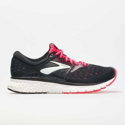 Brooks Glycerin 16: Brooks Women's Running Shoes Black/Pink/Grey