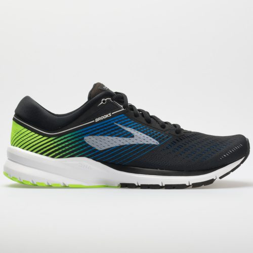 Brooks Launch 5: Brooks Men's Running Shoes Black/Blue/Green
