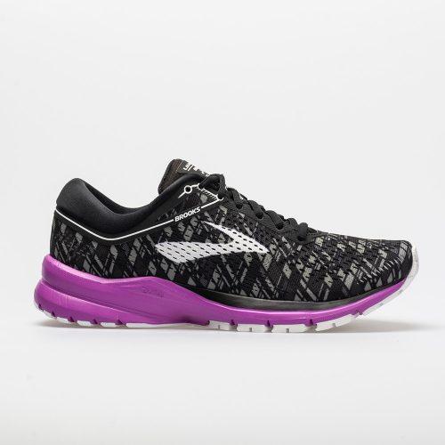 Brooks Launch 5: Brooks Women's Running Shoes Black/Purple/Print