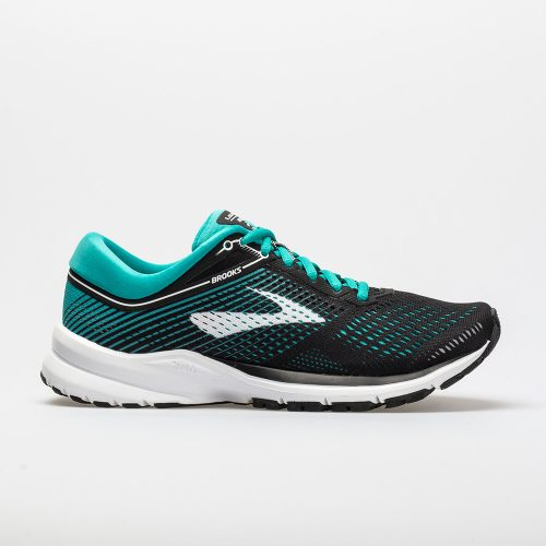 Brooks Launch 5: Brooks Women's Running Shoes Black/Teal Green/White