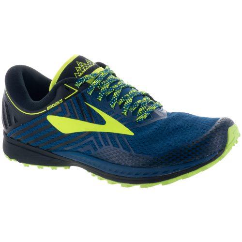 Brooks Mazama 2: Brooks Men's Running Shoes Blue/Black/Nightlife