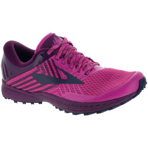 Brooks Mazama 2: Brooks Women's Running Shoes Pink/Plum/Navy
