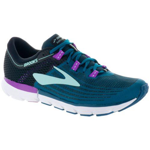 Brooks Neuro 3: Brooks Women's Running Shoes Lagoon/Black/Purple