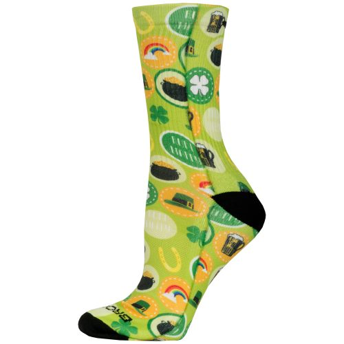 Brooks Pacesetter Crew St.Paddy's Day 2017 Socks: Brooks Socks