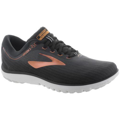 Brooks PureFlow 7: Brooks Men's Running Shoes Grey/Black/Copper