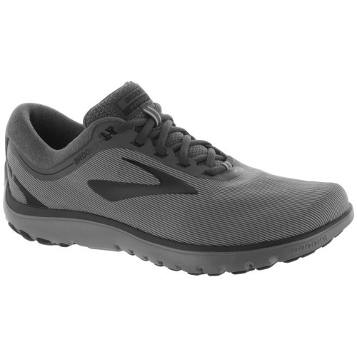 Brooks PureFlow 7: Brooks Men's Running Shoes Grey/Grey/Black