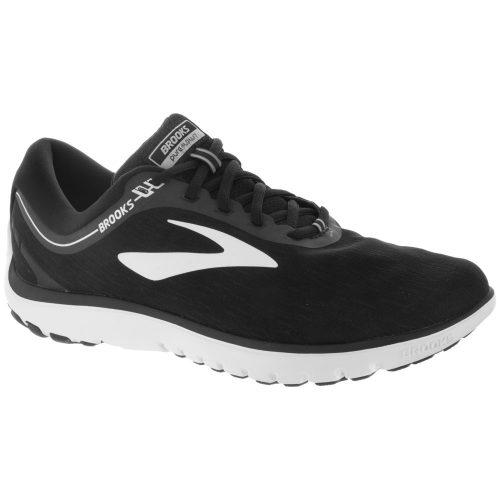 Brooks PureFlow 7: Brooks Women's Running Shoes Black/White