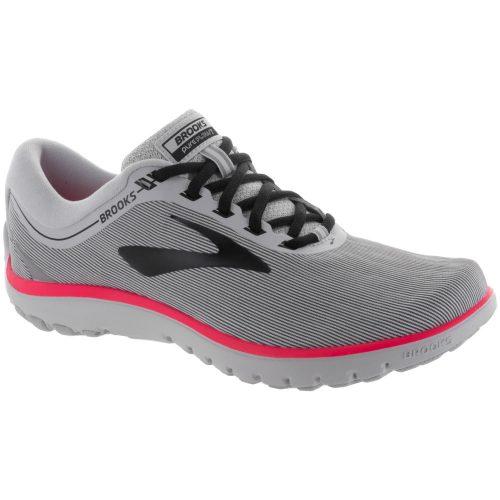 Brooks PureFlow 7: Brooks Women's Running Shoes Grey/Black/Pink