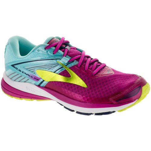 Brooks Ravenna 8: Brooks Women's Running Shoes Very Berry/Aqua Splash/Lime Punch