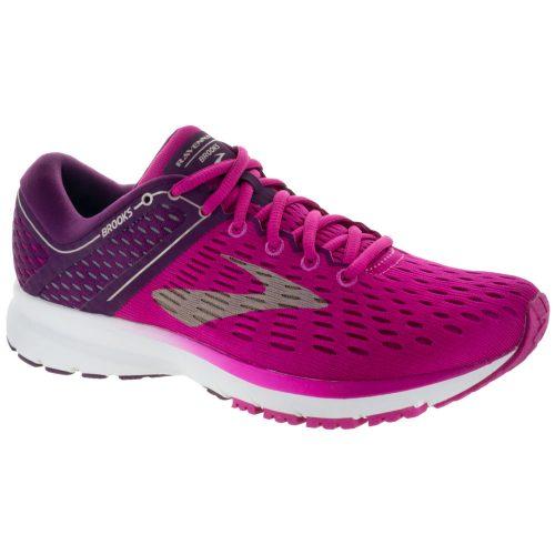 Brooks Ravenna 9: Brooks Women's Running Shoes Pink/Plum/Champagne
