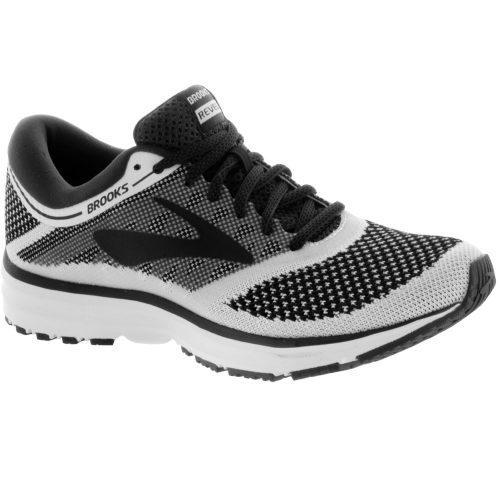 Brooks Revel: Brooks Men's Running Shoes White/Anthracite/Black
