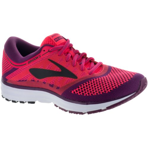 Brooks Revel: Brooks Women's Running Shoes Diva Pink/Plum Caspia/Black
