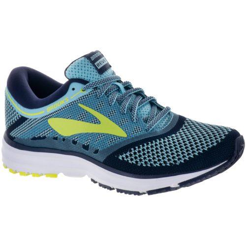 Brooks Revel: Brooks Women's Running Shoes Island Blue/Evening Blue/Lime Popsicle