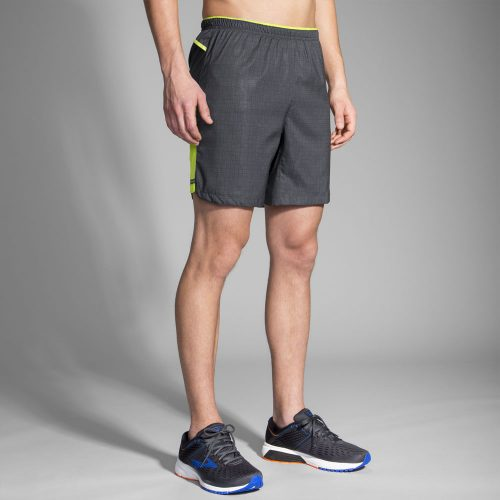"Brooks Sherpa 7"" 2-in-1 Shorts: Brooks Men's Running Apparel"
