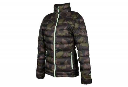 CIRQ AVA 700 Down Jacket - Women's - camo print/army/paradise green, medium