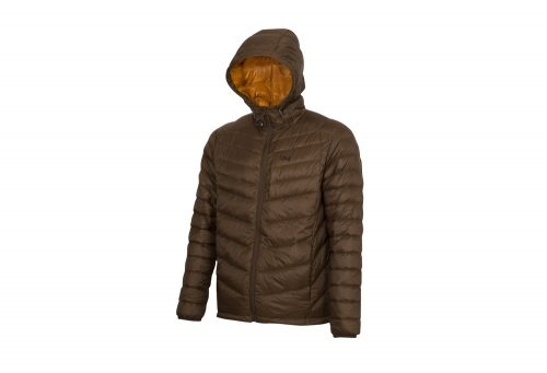 CIRQ Cascade Hooded Down Jacket - Men's - hickory, xx-large