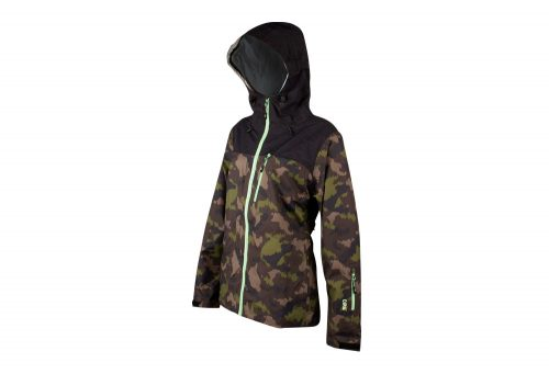 CIRQ Remy Waterproof Shell - Women's - camo print/paradise green, medium